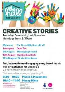 Creative stories august 2016