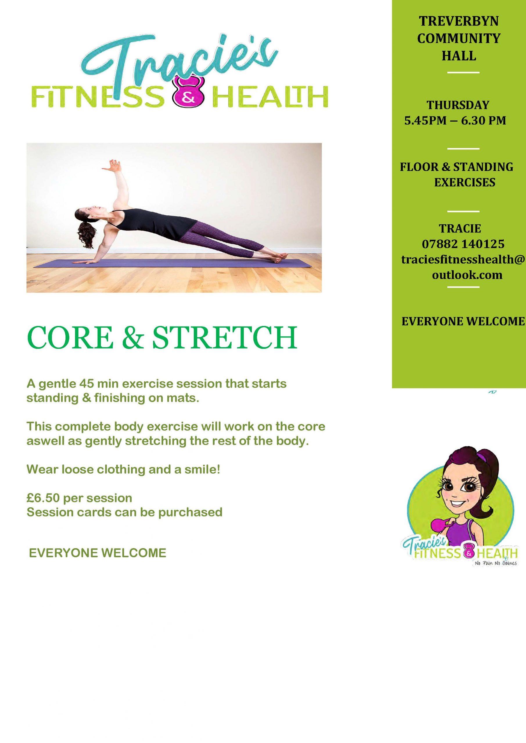 Core stretch tracie