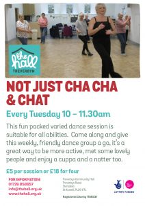 Not just cha cha & chat mar 18