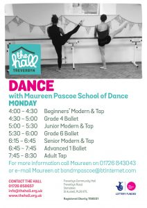 Dance monday sept 18