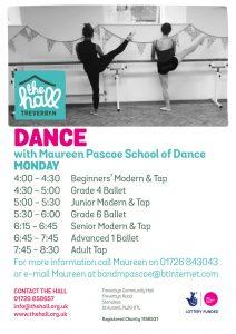 Dance monday sept 18