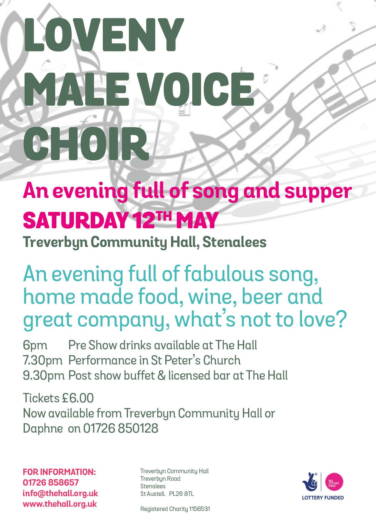 Loveny choir night website
