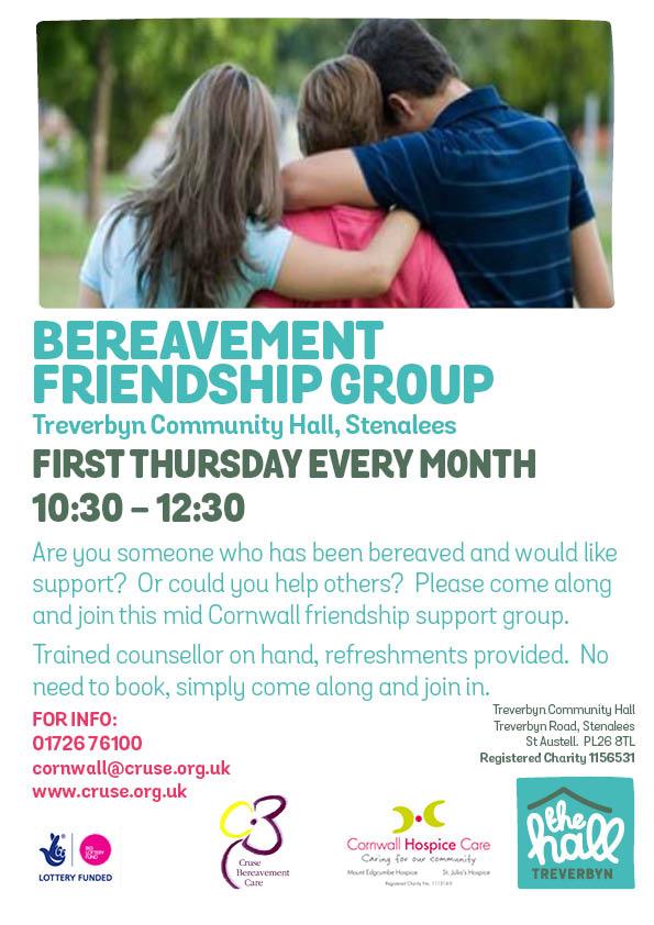 Bereavement friendship support group