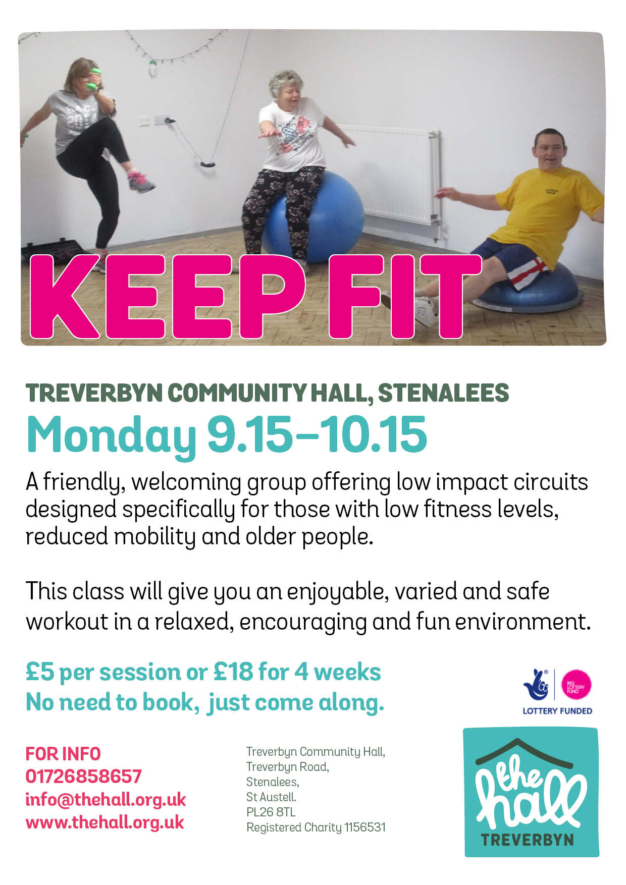 Keep fit mondays sept 18