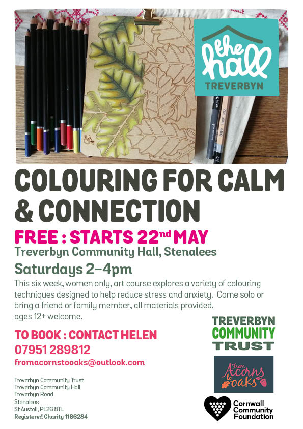Colouring for calm may 2021