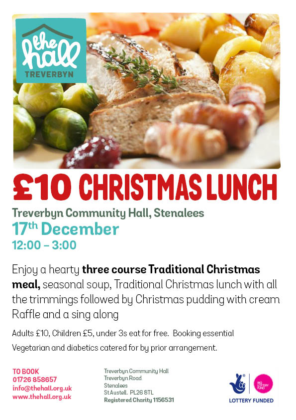 £10 christmas lunch