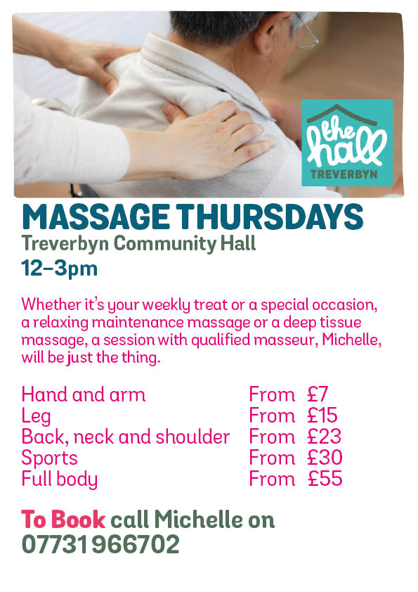 Massage thursdays mar 19