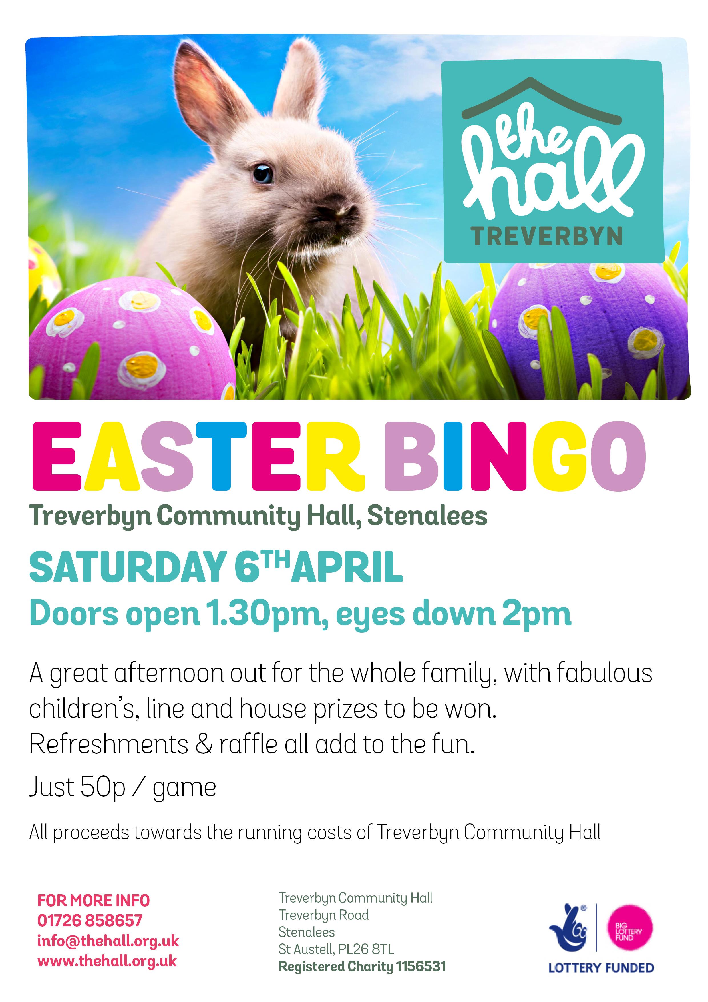 Easter bingo 2019