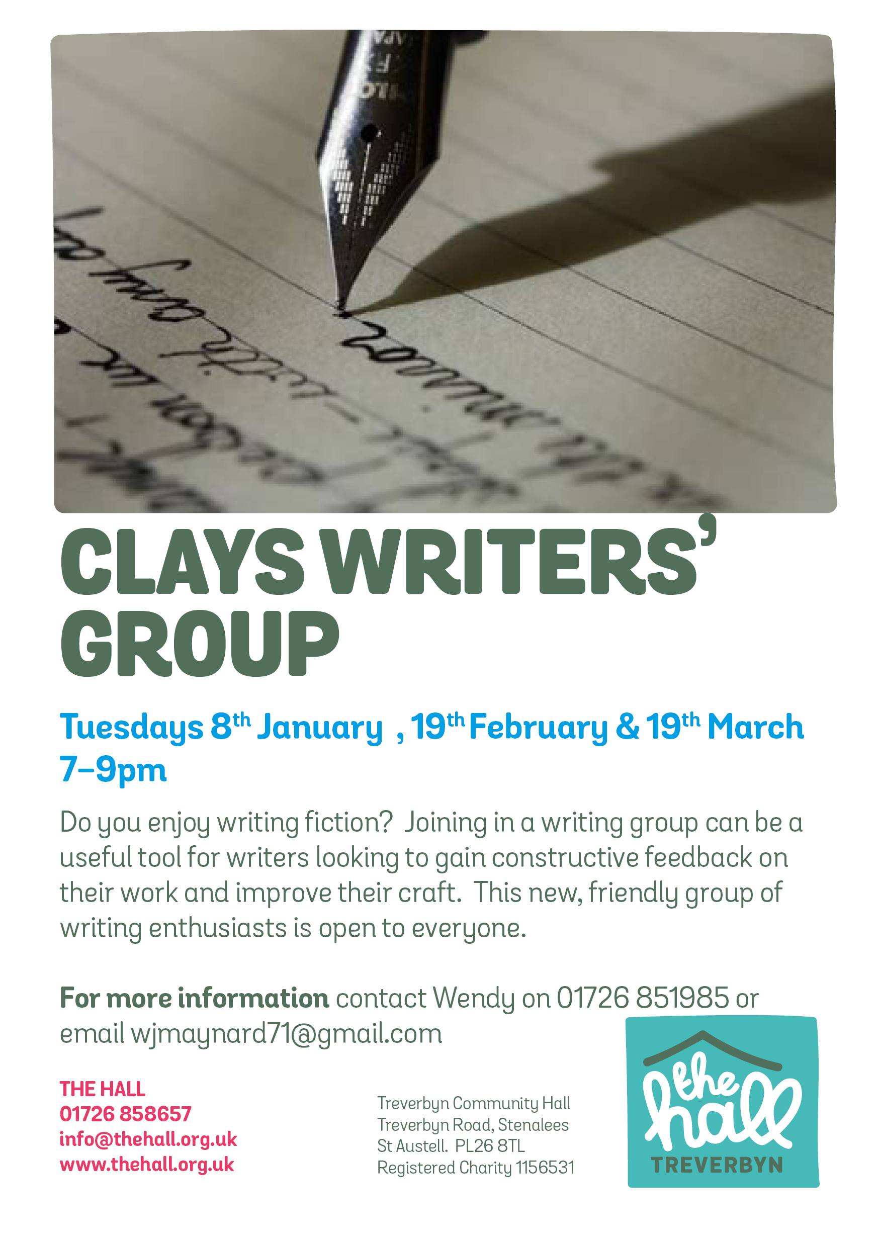 Writing group 2019
