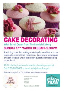 Cake decorating 17 mar 19