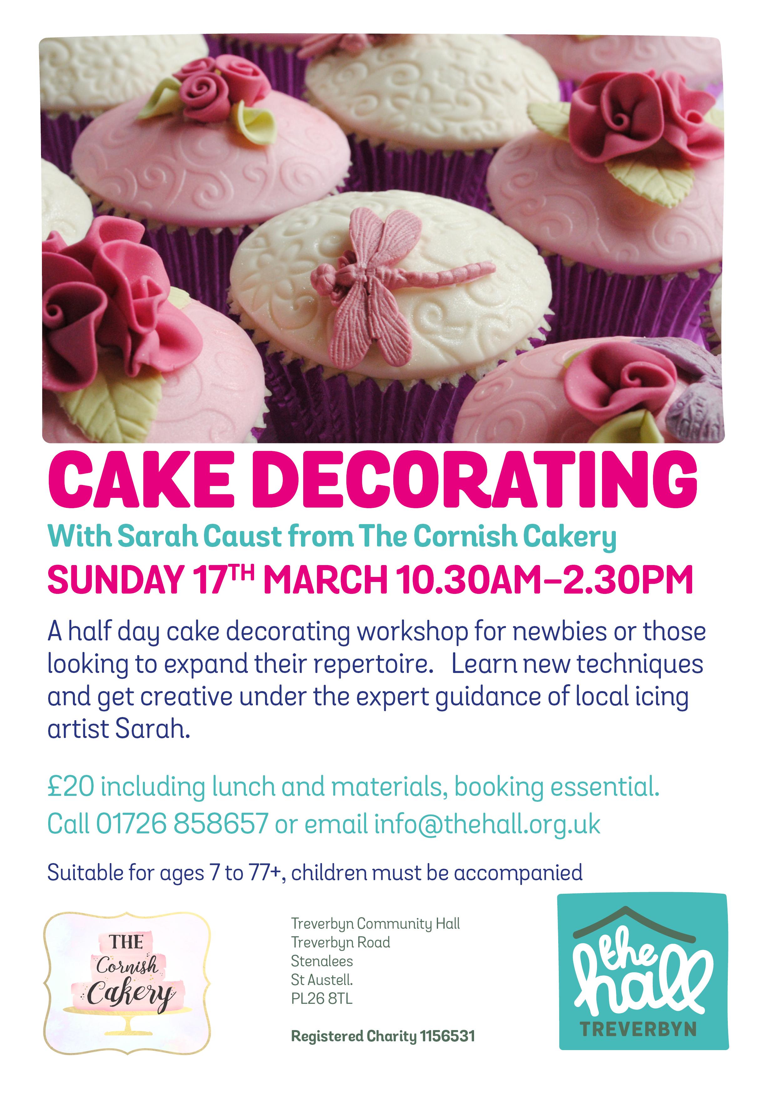 Cake decorating 17 mar 19