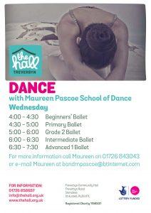 Dance wednesday sept 18