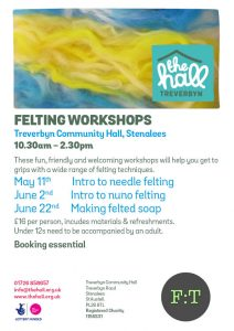 Felting workshops combined