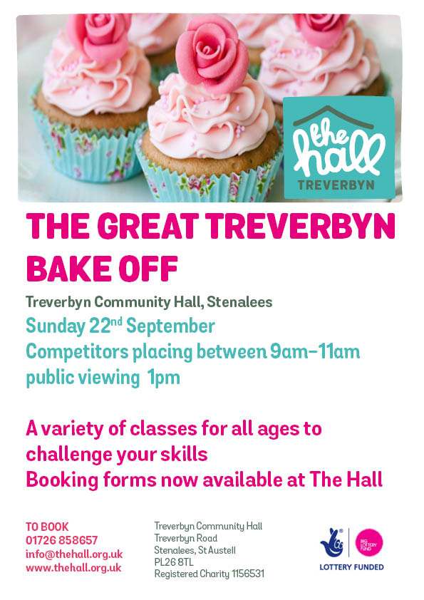 Bake off poster