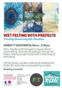 Beginners felting workshops oct 19