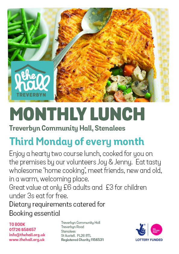 Monthly lunch club 20