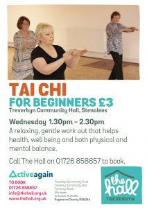 Tai chi beginners 2020 wed £3