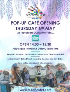 Popup cafe reach out