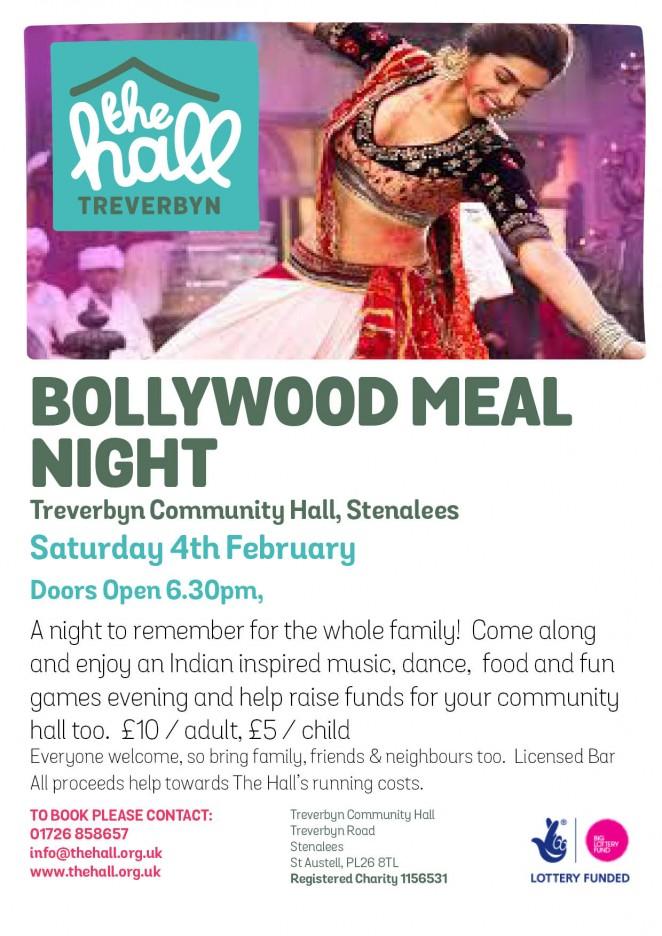Bollywood meal night feb 2017