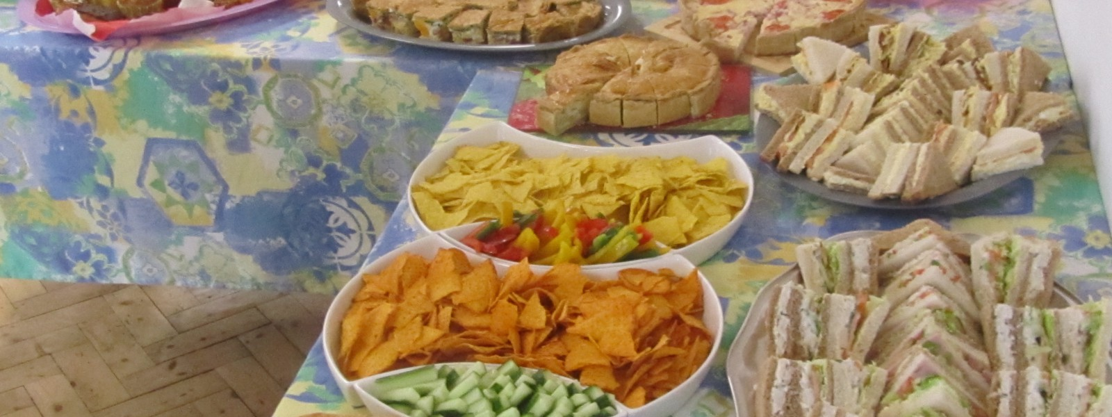buffet community cafe, wake, catering