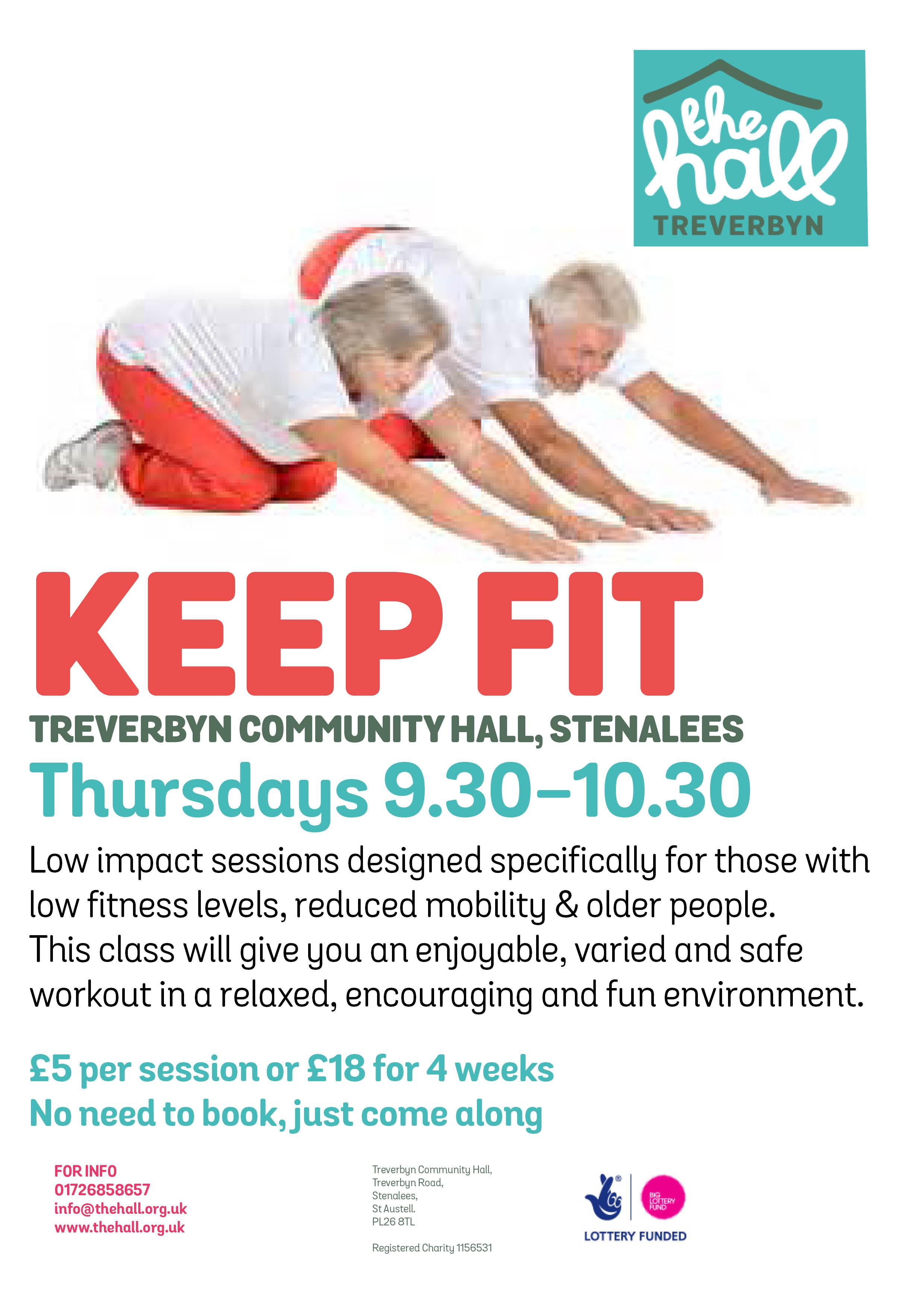 Keep fit mar 17