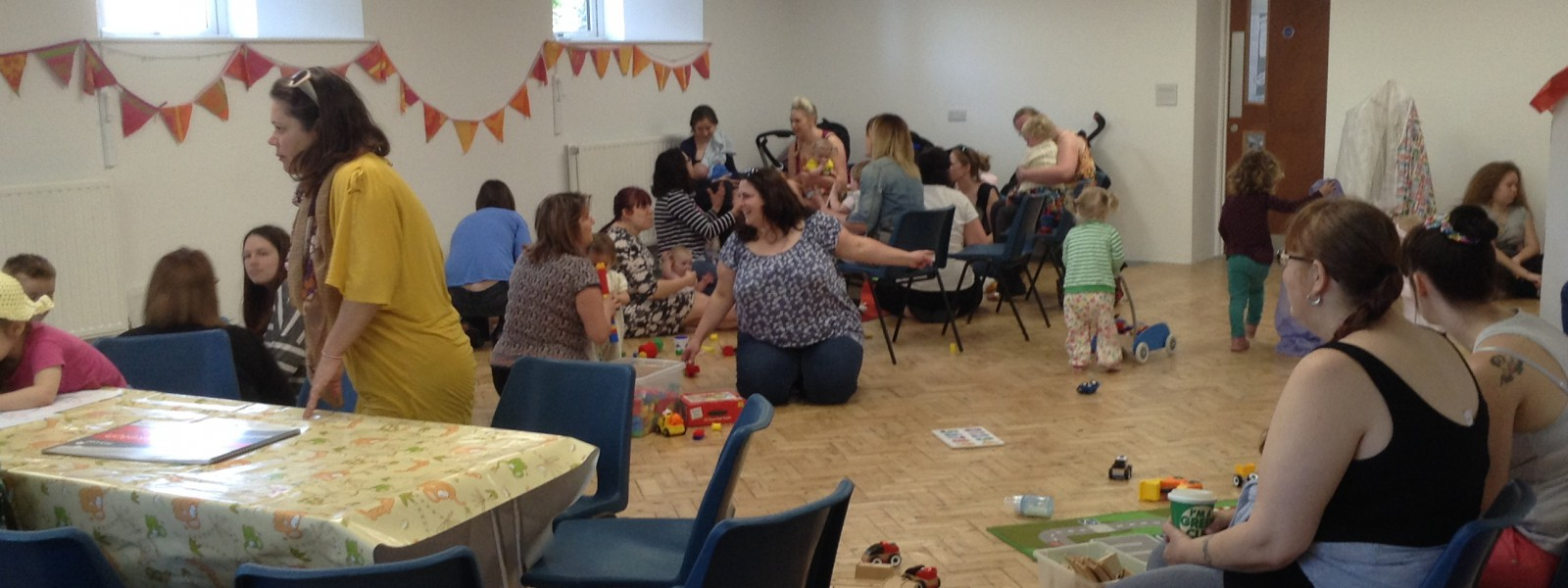 Parent Toddler group, Stenalees, Cornwall